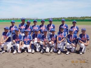 第2回小学生硬式野球親善交流大会準優勝